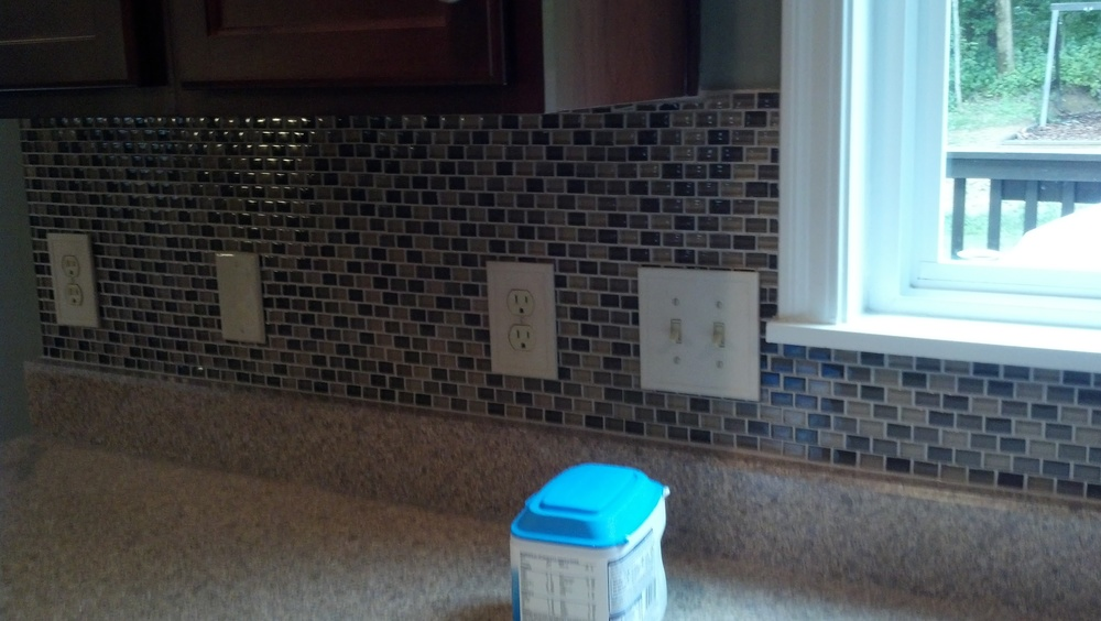 Indian Hill Tile back splash