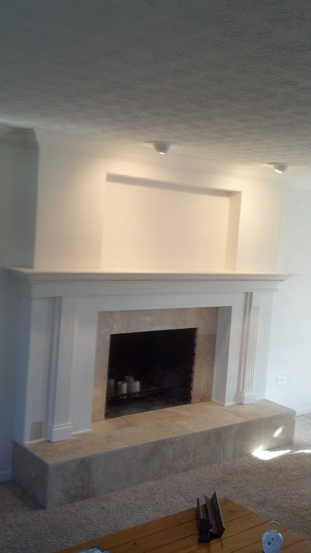 Mt Carmel Handyman Fireplace