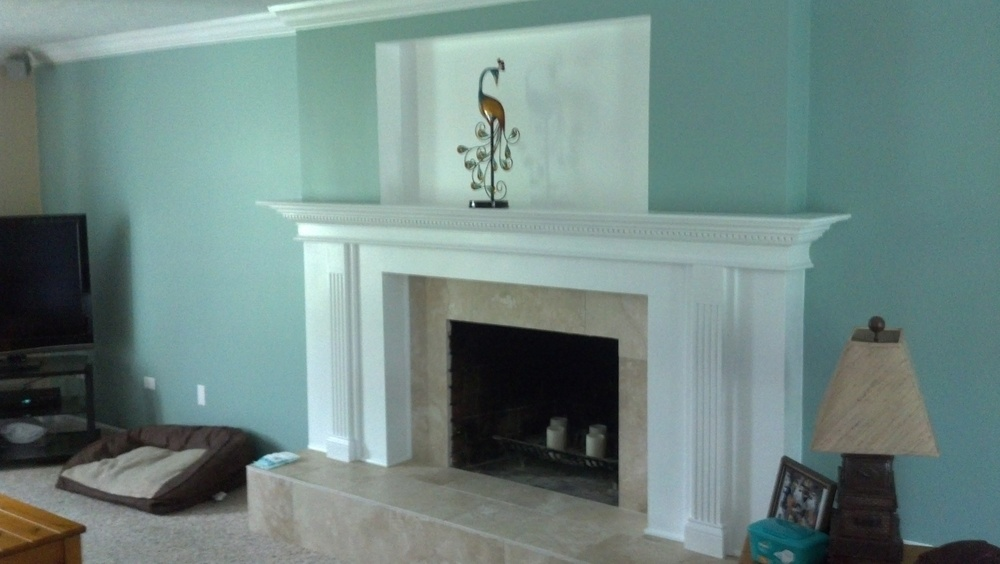 Mt Repose Fireplace Carpentry Remodel