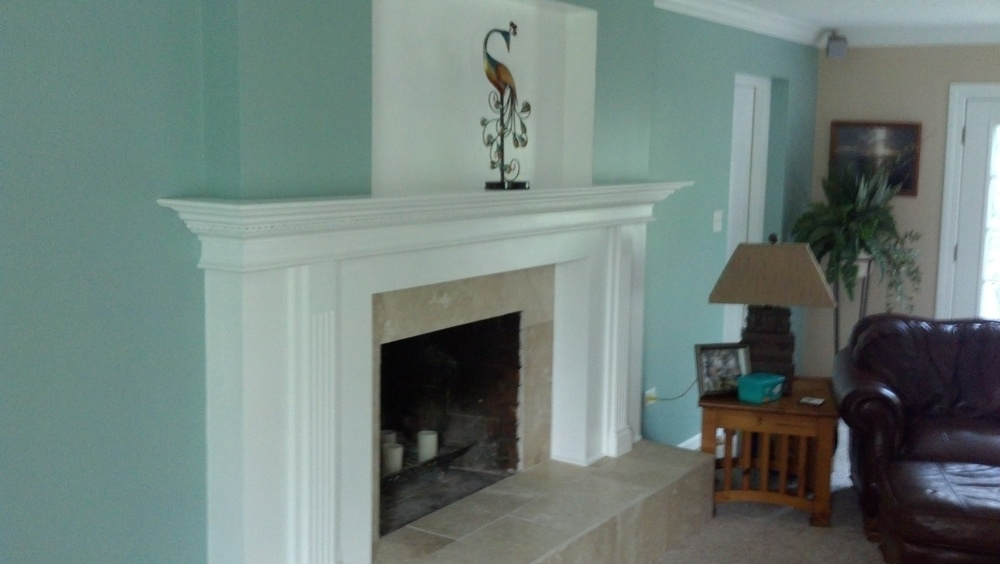 Indian Hill Carpentry Fireplace Remodel