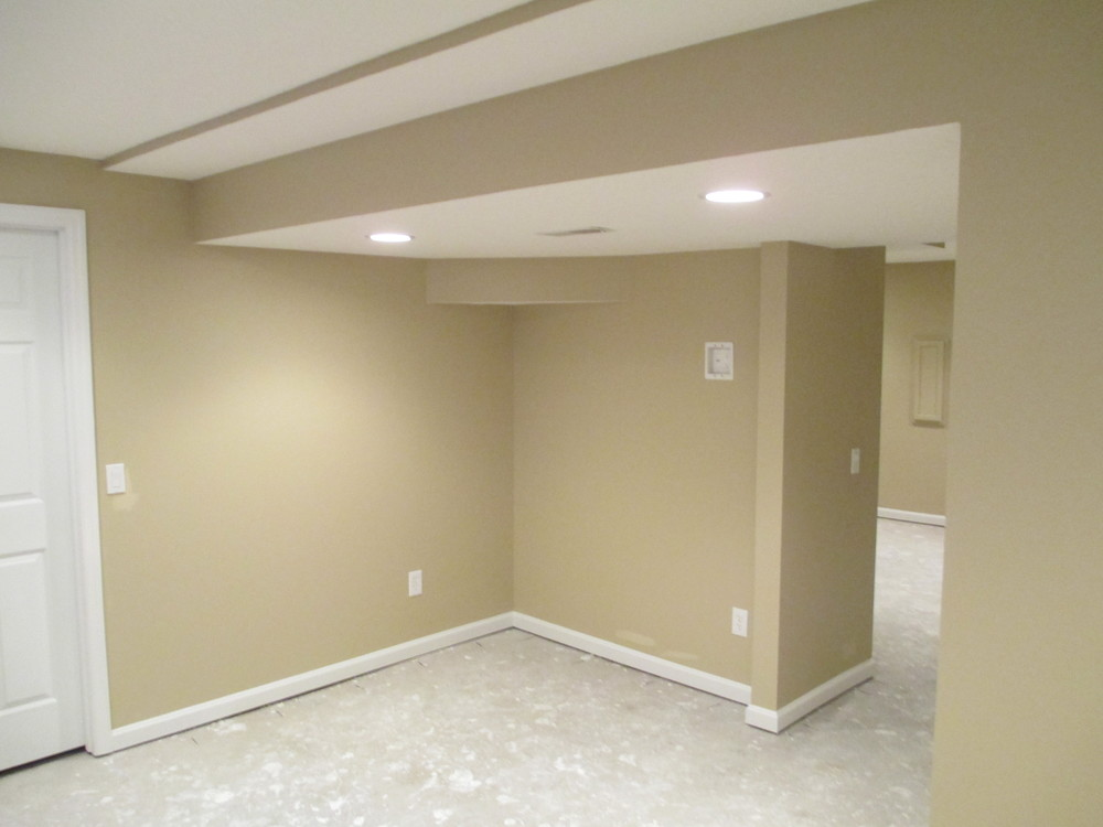Sharonville Finished Basement