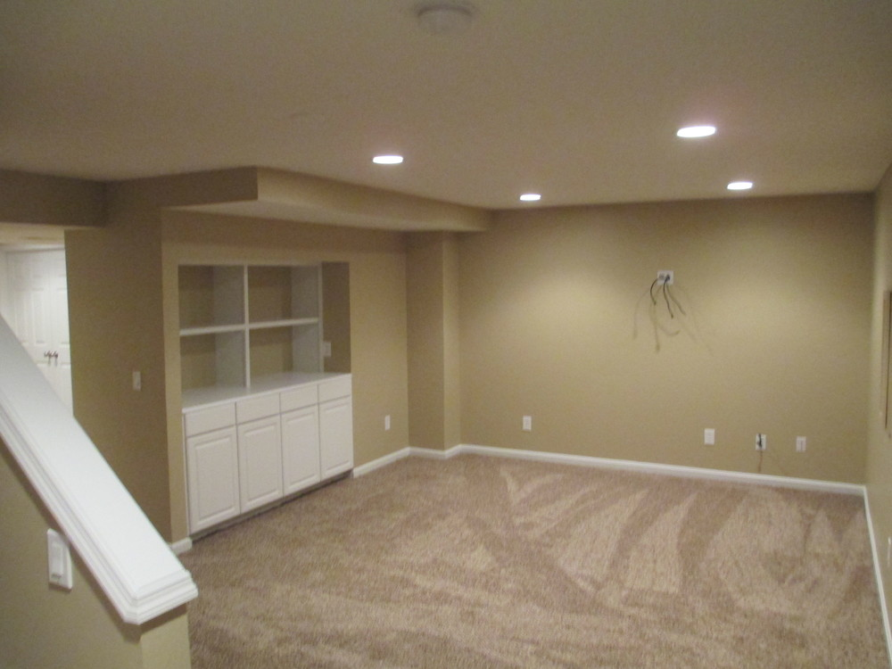 Finneytown Finished Lower Level
