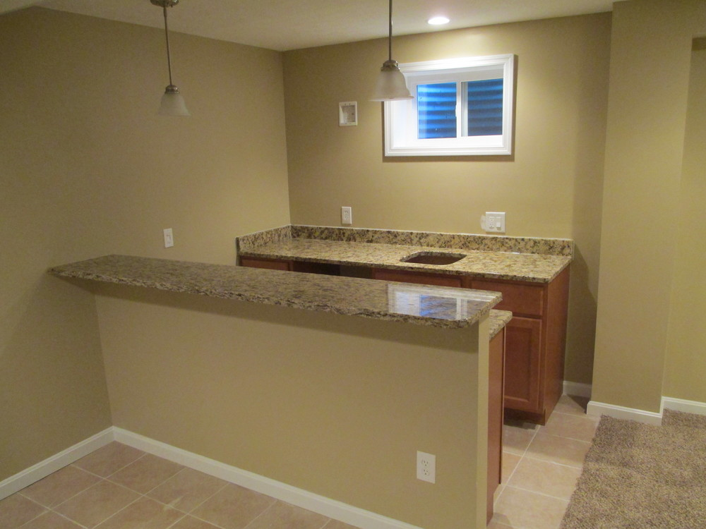 St Bernard Lower Level Wet Bar
