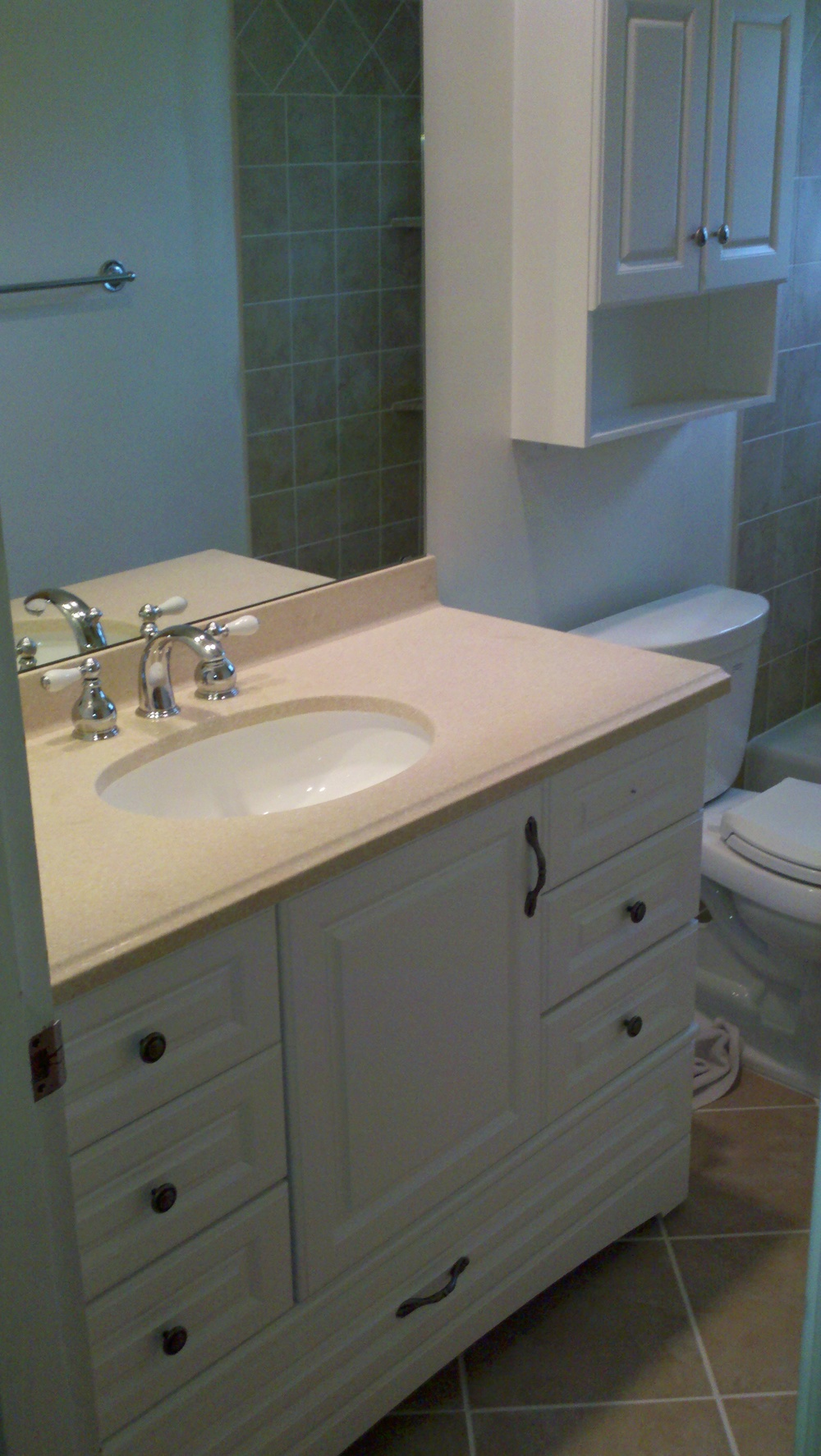 Crestview Hills Bathroom Sink Install