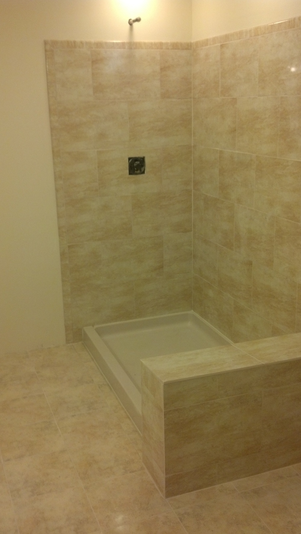 West Latonia Shower Remodel