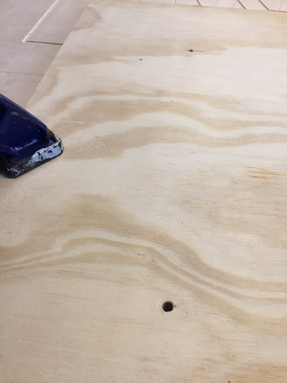 Drilled center holes