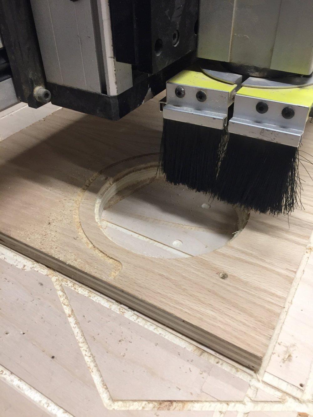 Cutting contours