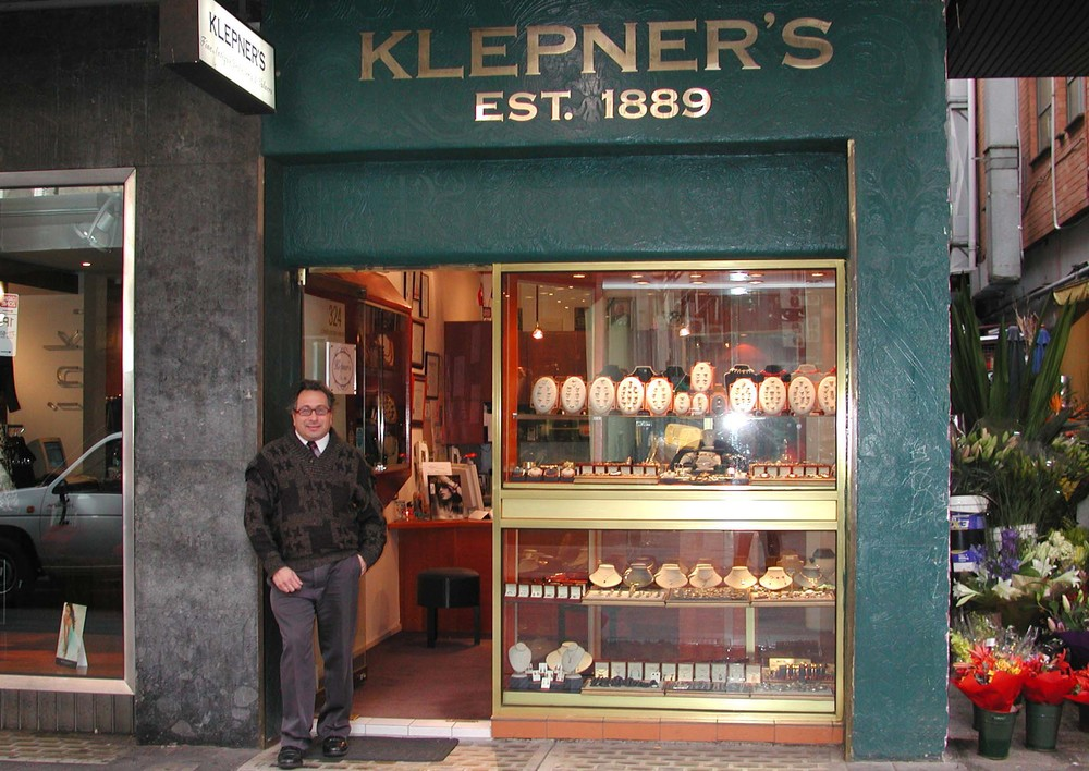 Ronnie Bauer at Present Day Klepner's