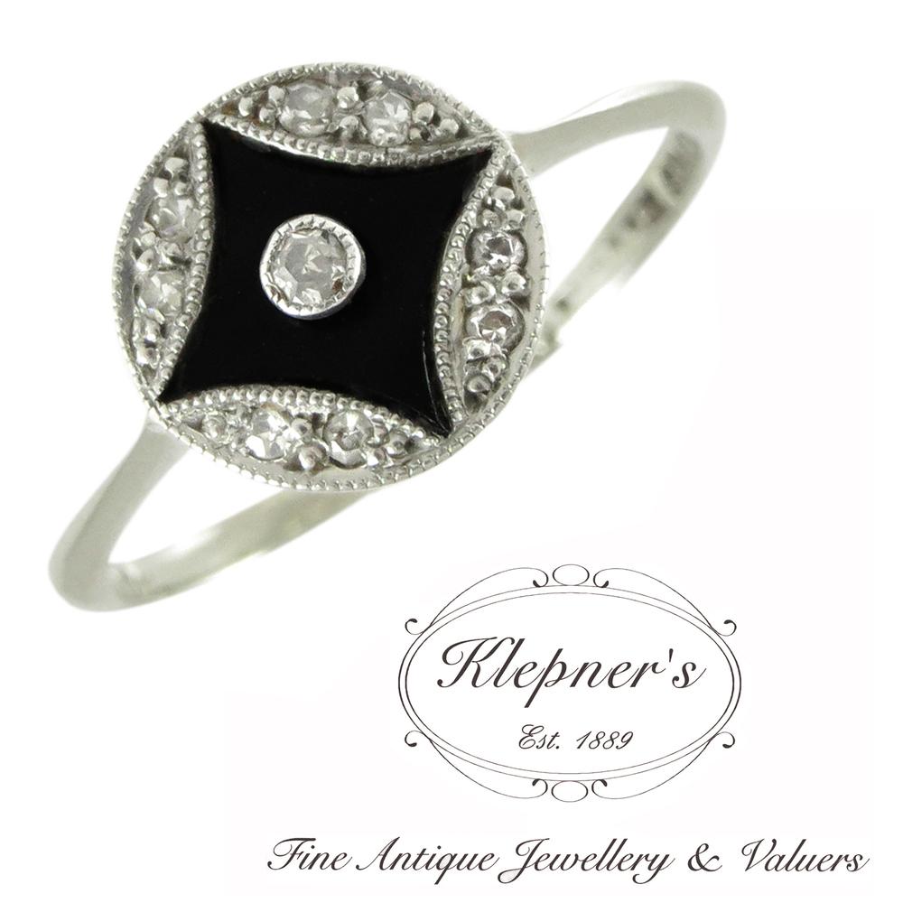 ca men Herren-Ring 925 Sterlingsilber vintage-oxidized
