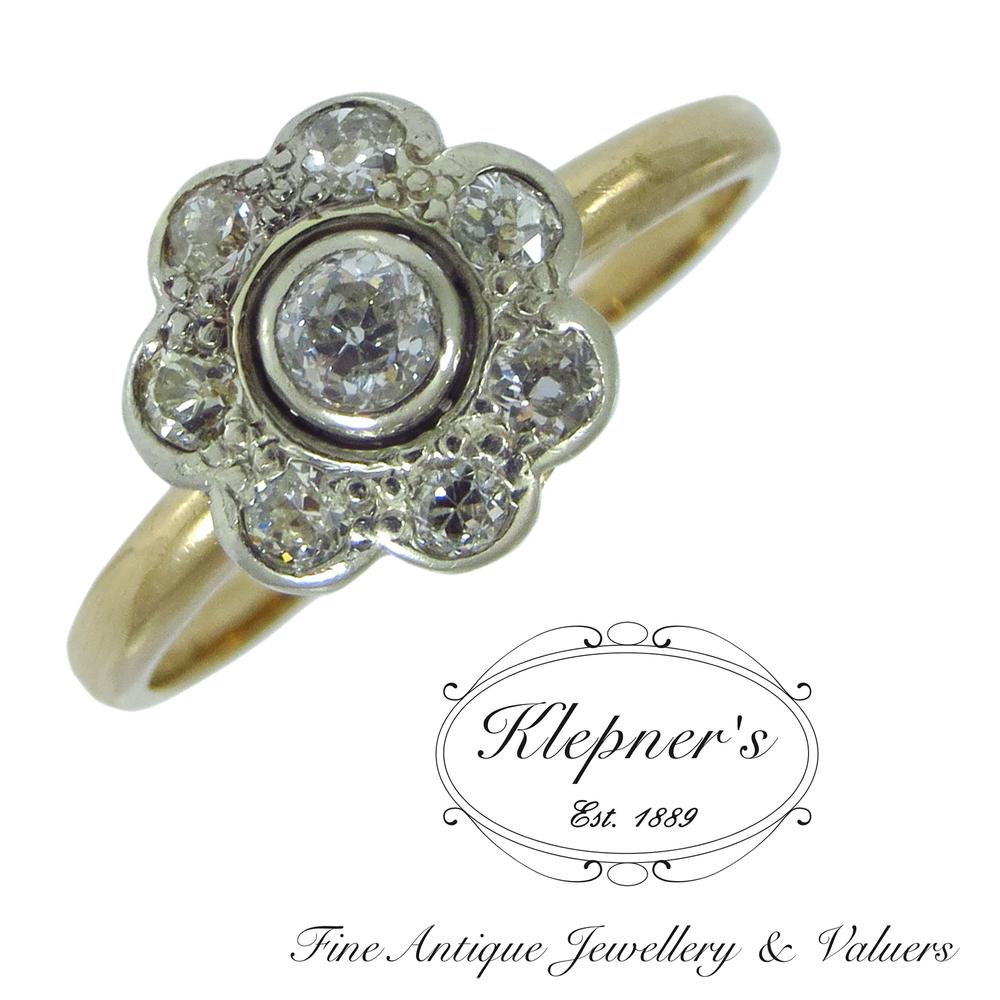 Engagement Rings Amp Diamond Rings Klepner S Fine Antique