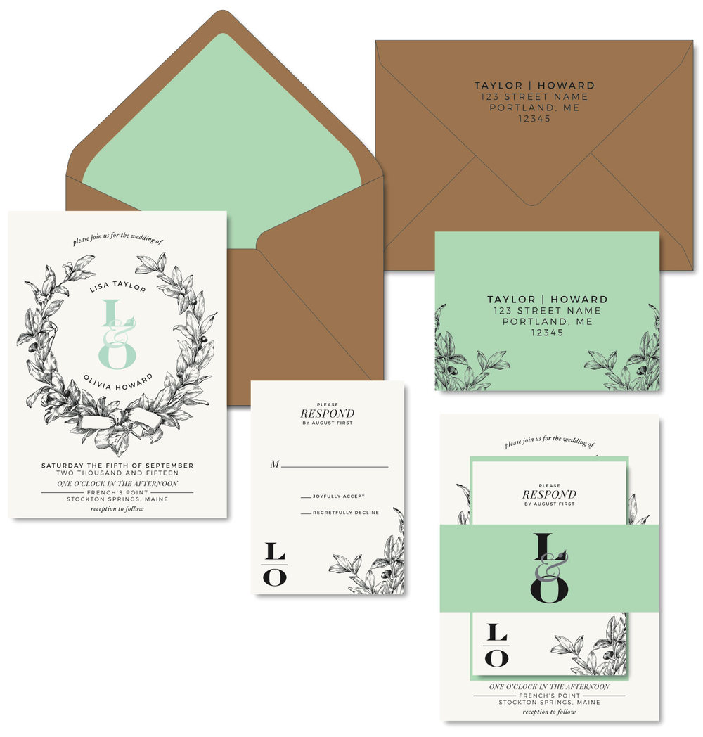 Gay and Lesbian Wedding Invitations The Laughing Owl Press Co
