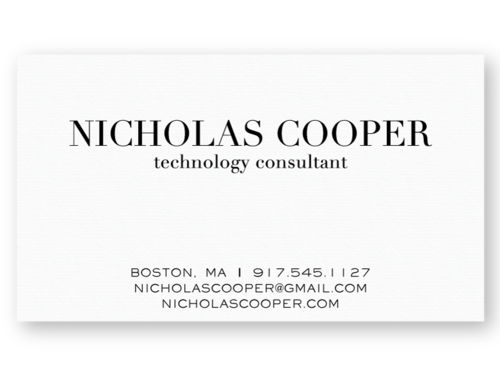 Letterpress business cards the laughing owl press co custom statement colourmoves