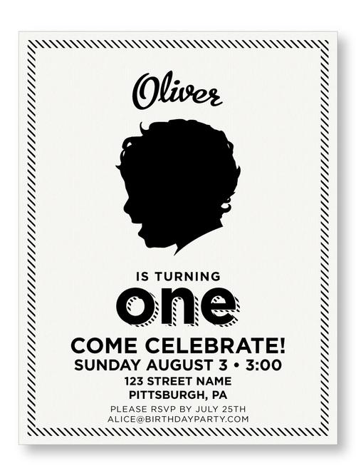 Birthday invitations the laughing owl press co custom striped borderbrboy birthday invitation filmwisefo