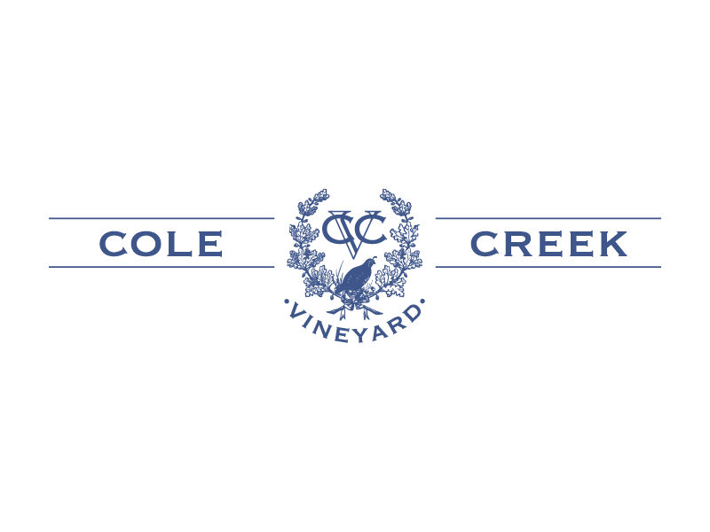 Customer:  Cole Creek Vineyard  Artwork by:  The Laughing Owl Press Co.