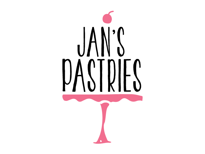Customer:  Jan's Pastries  Artwork by:  The Laughing Owl Press Co.