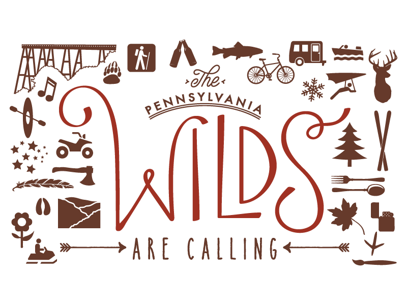 Customer: The PA Wilds Artwork by: The Laughing Owl Press