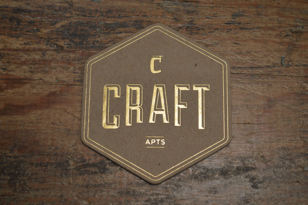 Chipboard Coaster