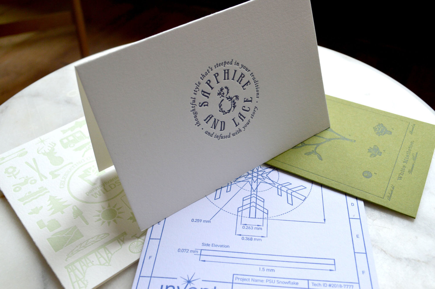 Custom Letterpress Greeting Cards The Laughing Owl Press Co