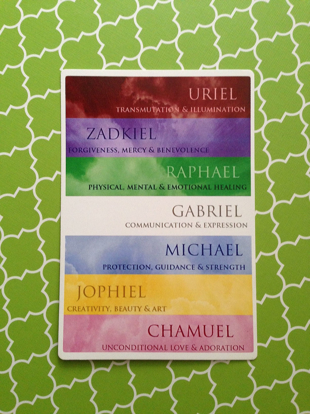 'Invoking the Archangels' Oracle Card Deck