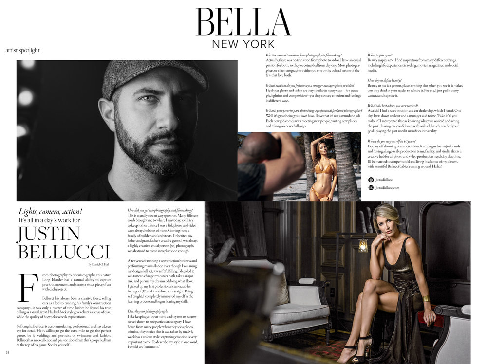 BELLA MAGAZINE - NEW YORK