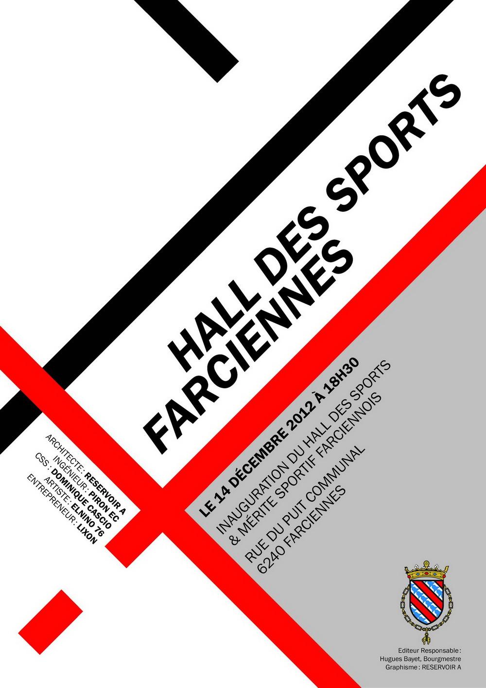 Inauguration Hall des Sports de Farciennes