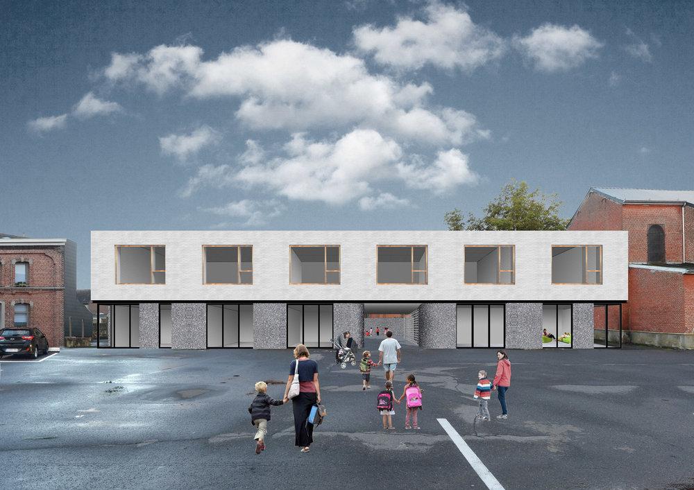 École Chapelle-lez-Herlaimont