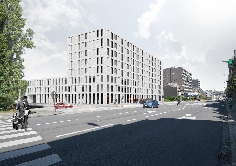 Logements Rousseau à Charleroi