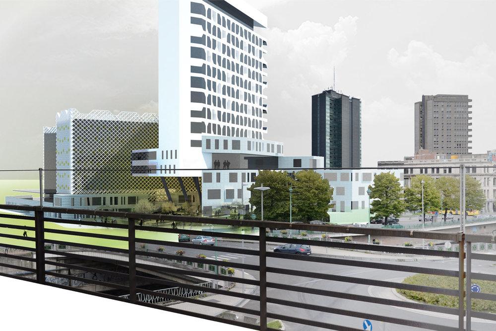 Ministère des finances à Charleroi