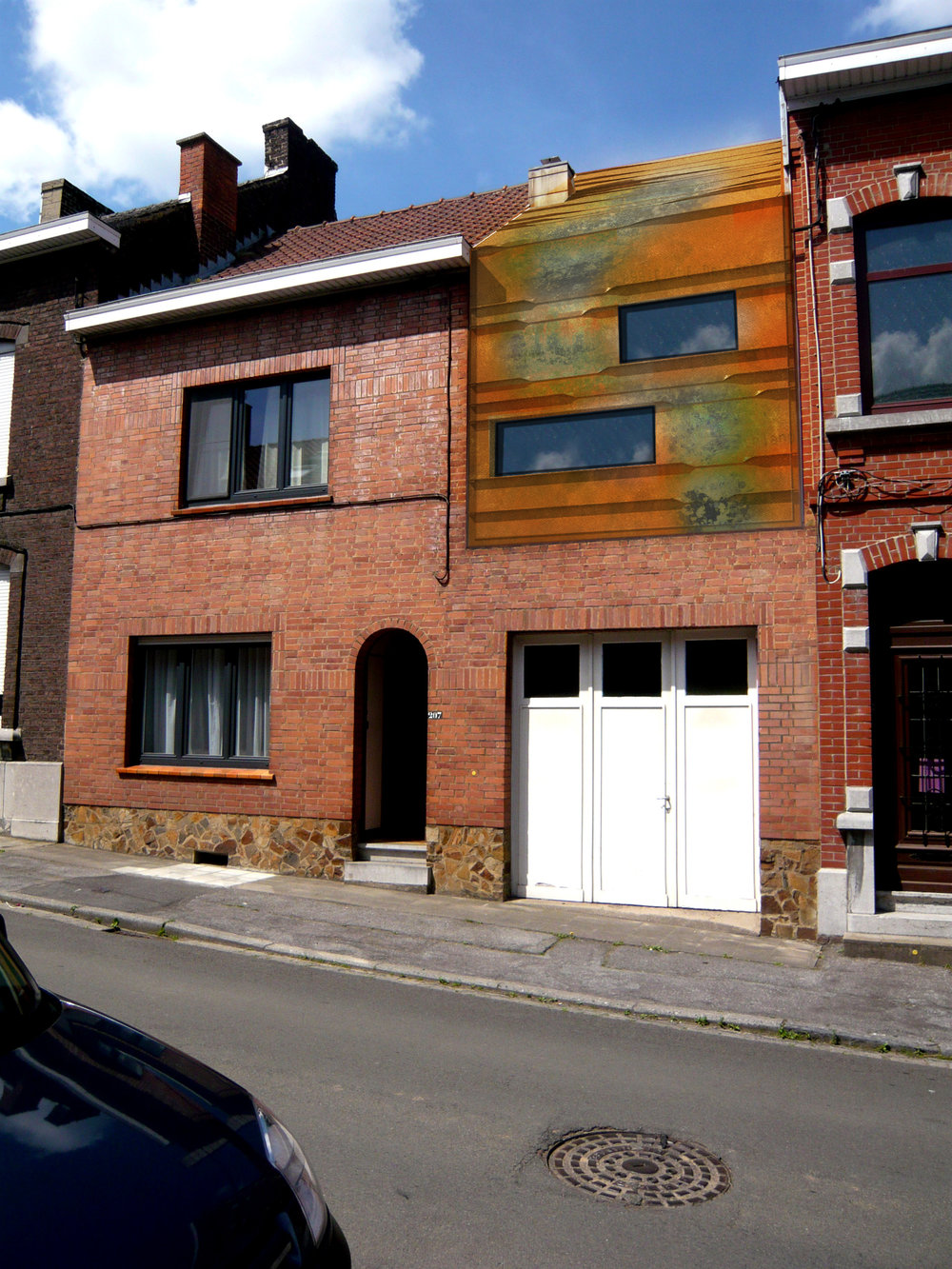 Maison d'Alain Bornain
