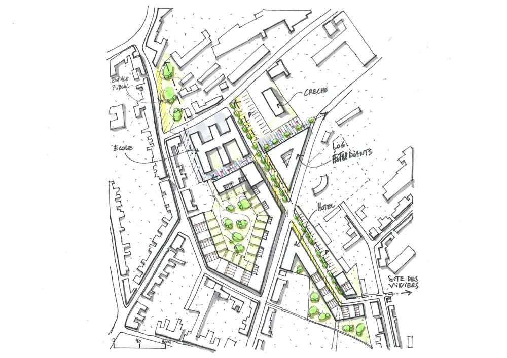 Faisabilité Grand Hôpital de Charleroi