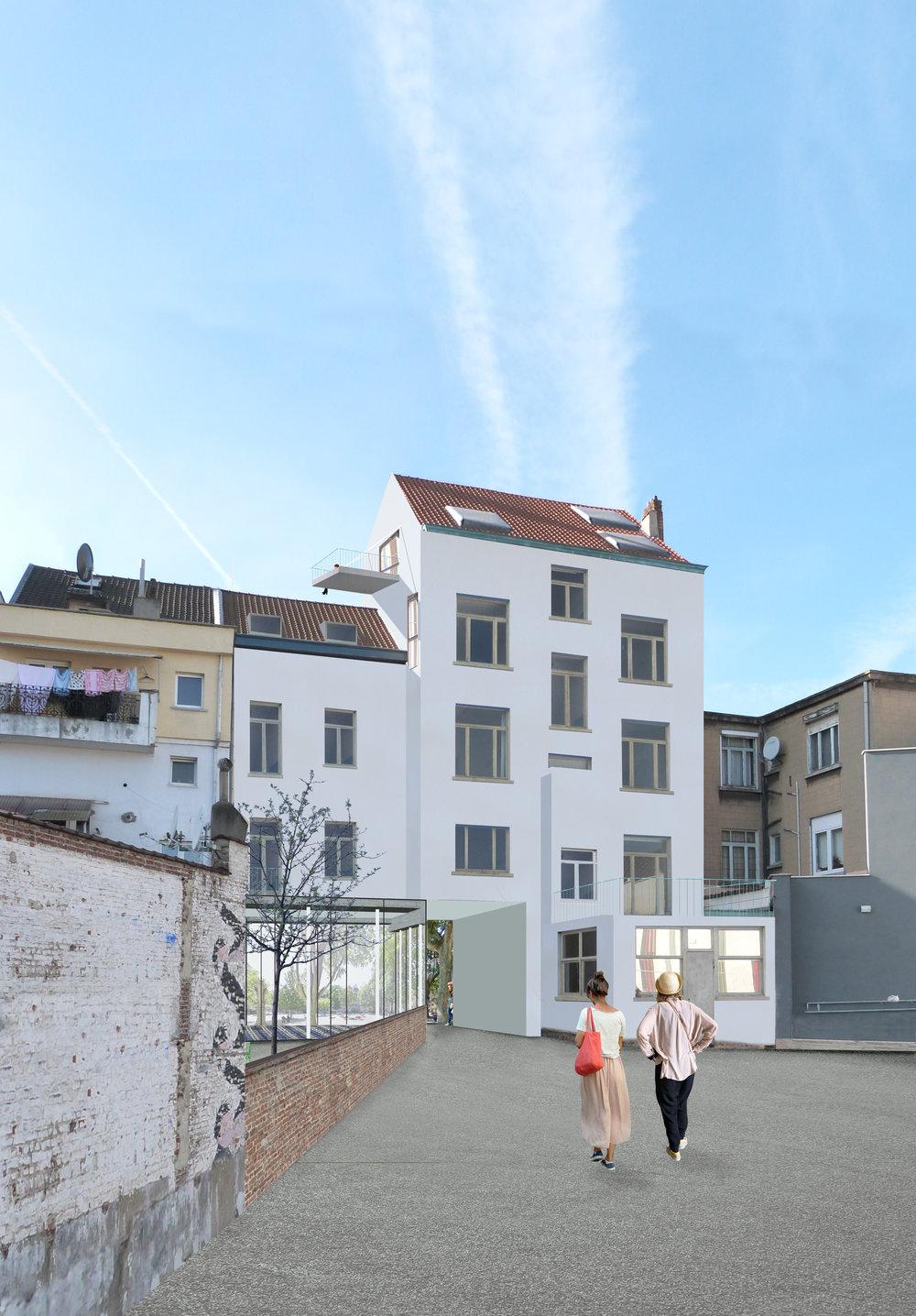 Logements Willems Laeken
