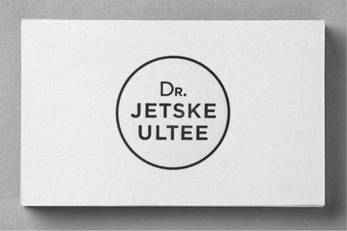 DR. JETSKE ULTEE    HUISSTIJL / WEBSITE