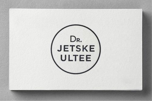 DR. JETSKE ULTEE    HUISSTIJL / WEBSITE / BROCHURE