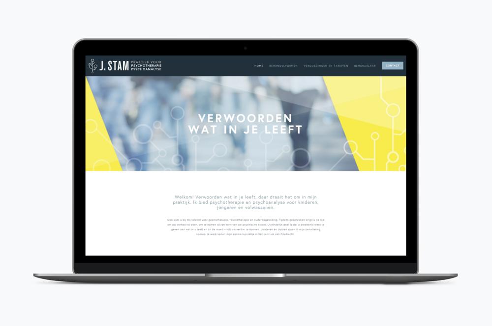 webdesign dordrecht psycholoog huisstijl