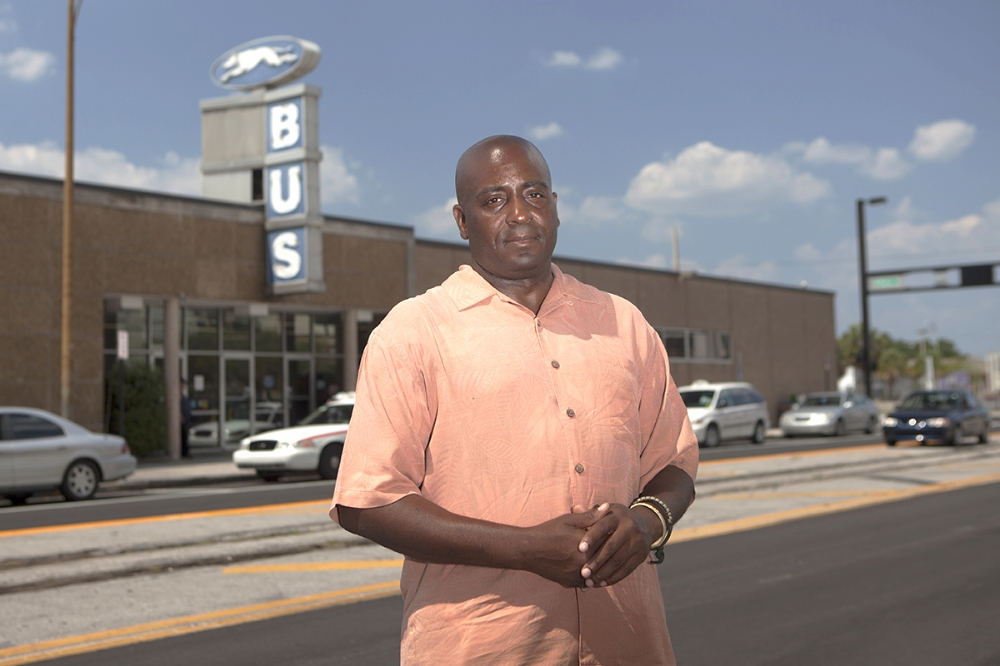 James Bell was the focus of a news feature called   Lost Veterans  by Mitch Perry. It was  a story on how Bell, along with thousands of others, wind up homeless after their military service. He arrived in Tampa on a  Greyhound bus from Georgia