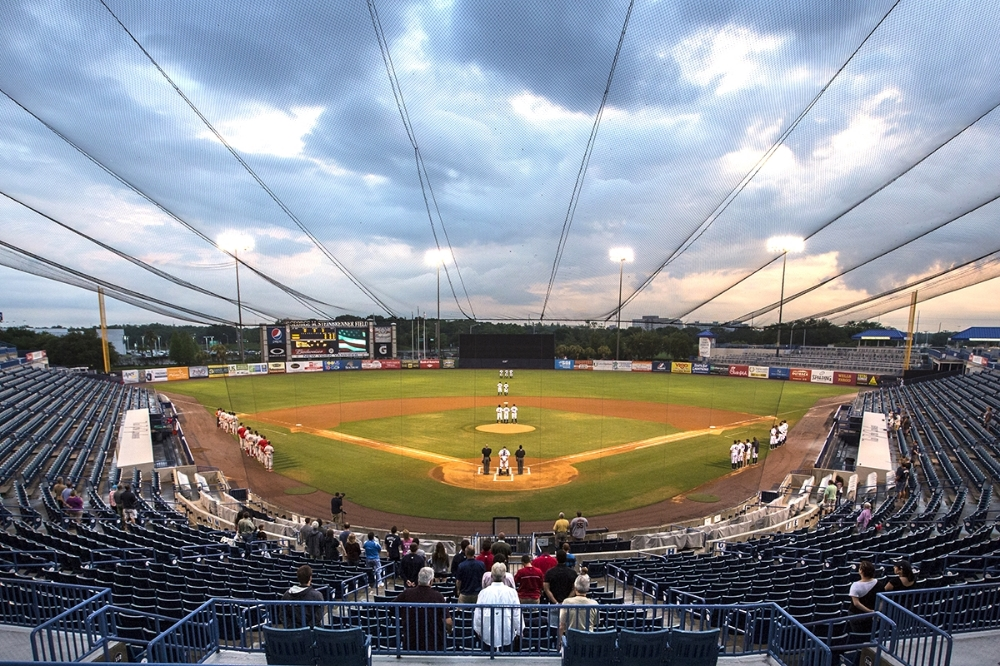 Shot as part of the Summer Guide for Creative Loafing featuring the Tampa Yankees minor league baseball team and low attendance