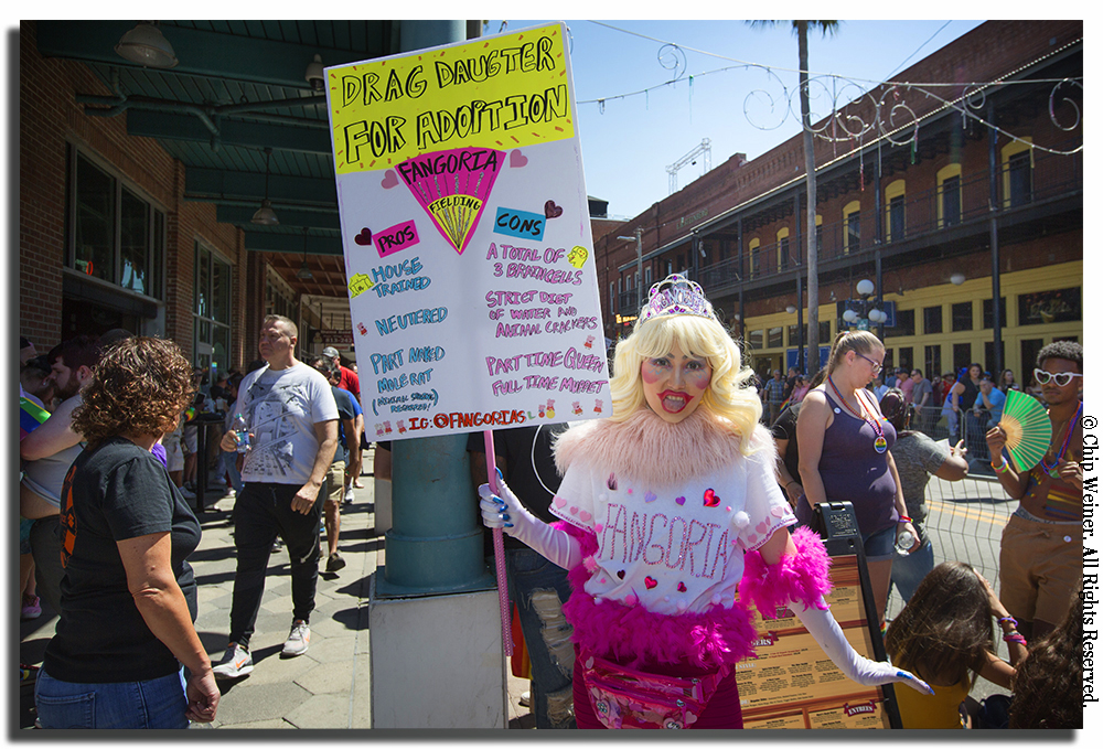 Tampa Pride 2018 took over the streets of Ybor City.