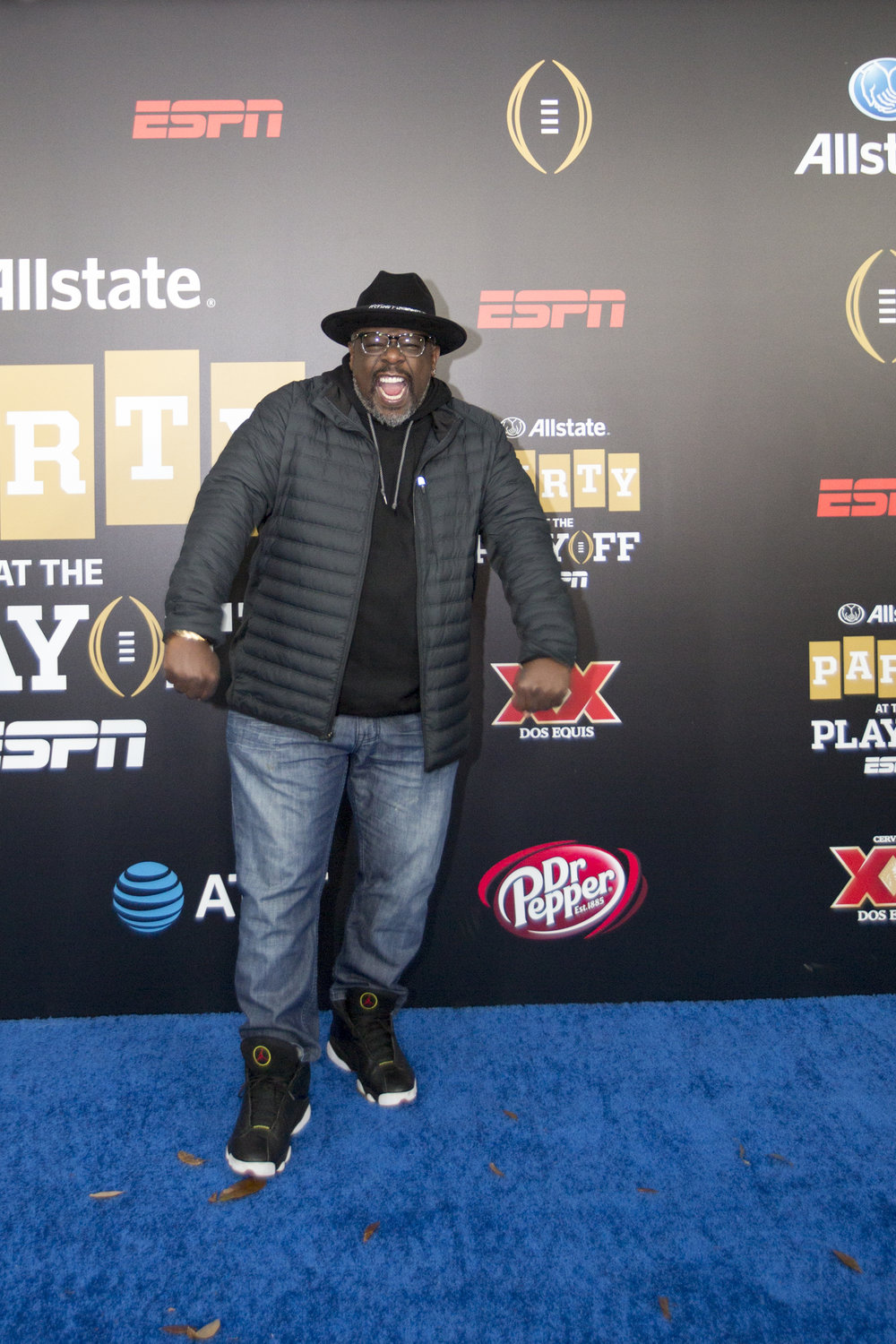 Cedric the Entertainer was in town for the party.jpg