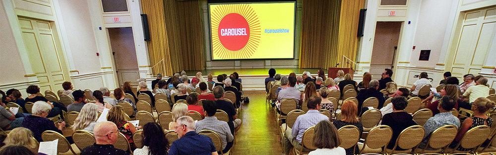 The auditorium at the Museum Of Fine Arts in St. Petersburg was home to Literary Carousel as part of The 2018 Sunlit Festival in St Petersburg