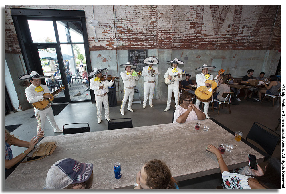Tampa Armature Works hosted a 6 piece Mariachi Band to celebrate Riverfest and Cinco fe Mayo