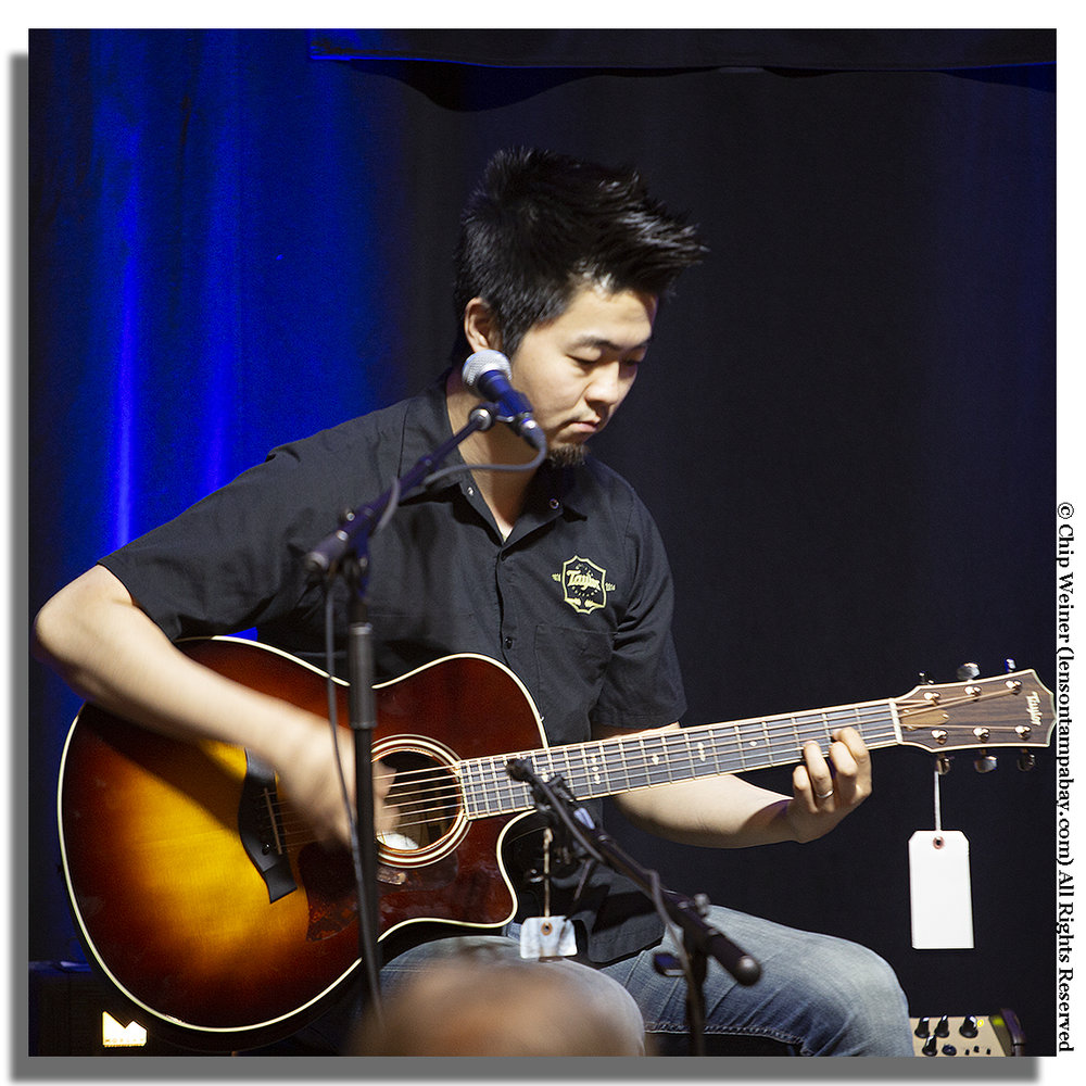 Kenny Echizen is a a session and touring guitarist hailing from LA- He also has expertise in guitar construction