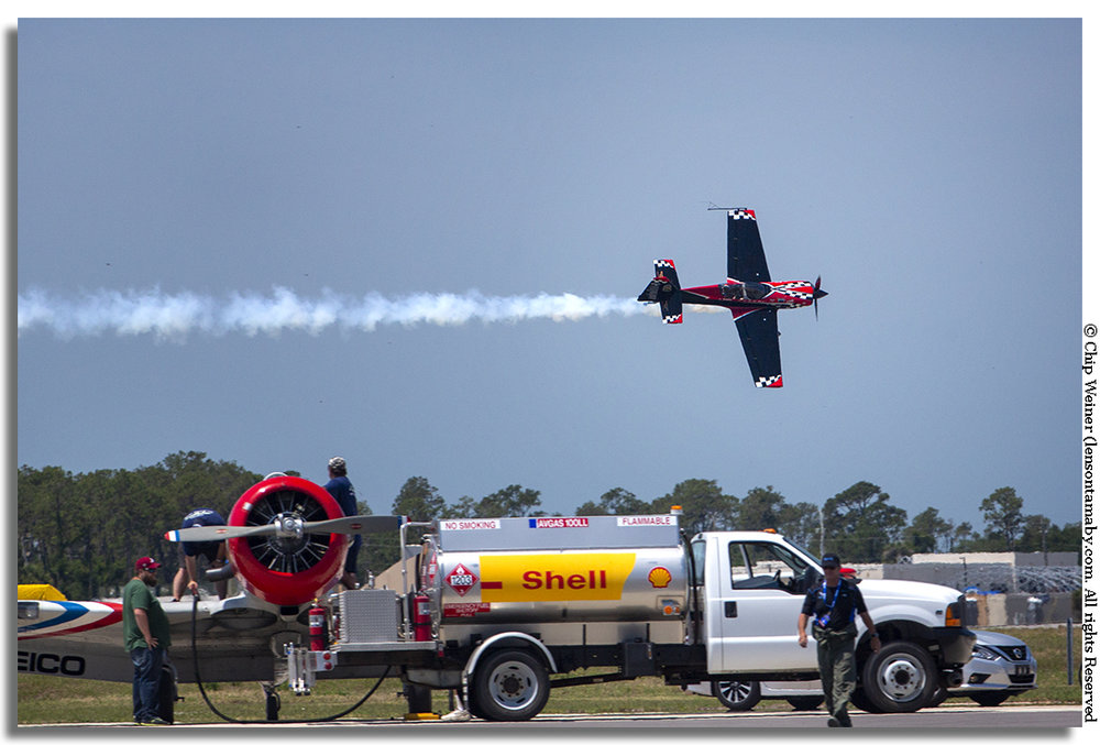 Rob Holland buzzes the ground with his MXS RH carbon fibre stunt plane. That is precision flying!