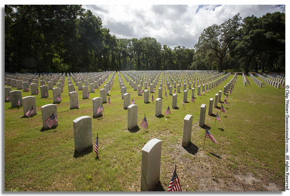 Countless lives have been sacrificed for our nation. The day before the Memorial Day event volunteers made sure every grave was adorned by an American flag to honor their service., and each name read aloud
