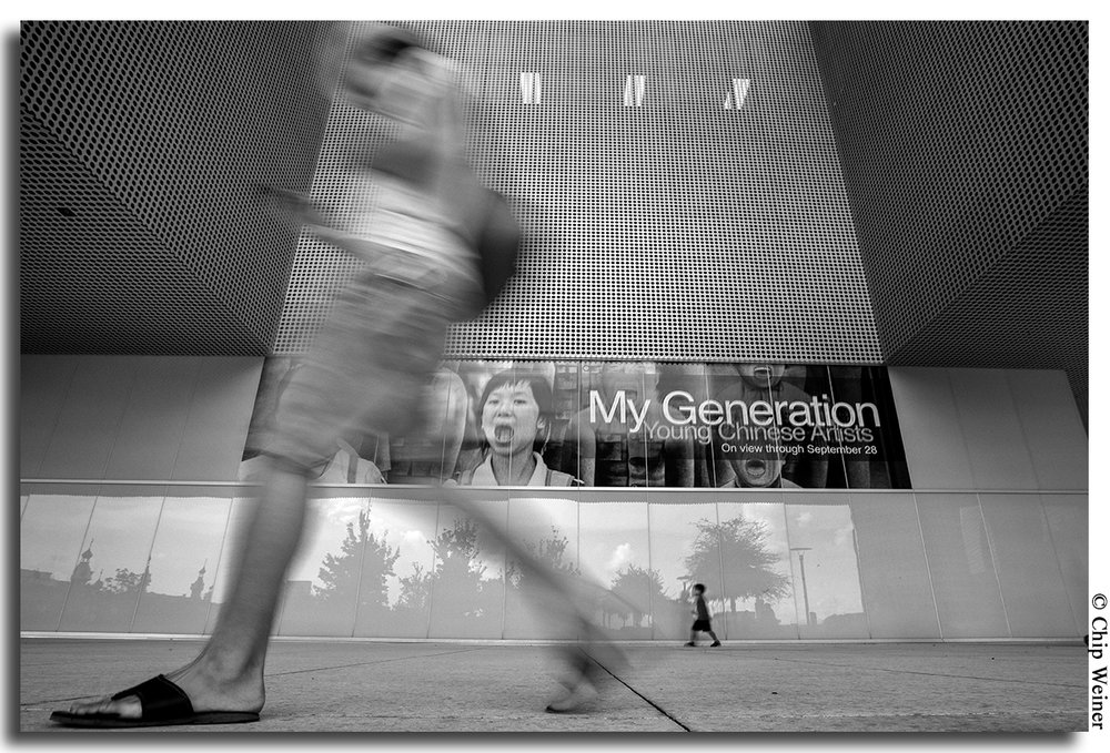 You can practice black and white street photography as well!