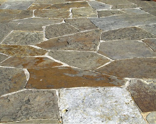 Flagstone vs Stamped Concrete vs Patio Blocks vs Wood Patios ...