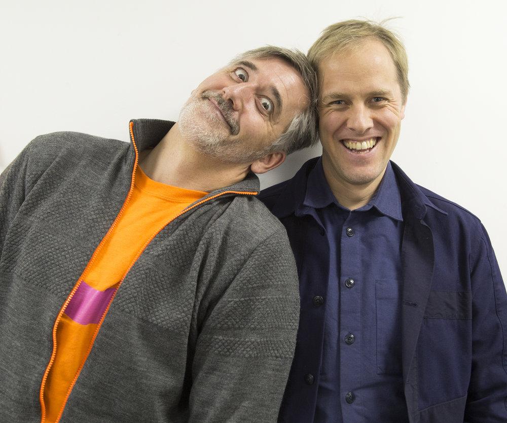 Tony Davidson & Ian Tate