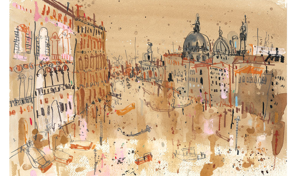 'The Grand Canal Venice'  Giclee print 42.5 x 27 cm Edition size 195   £145
