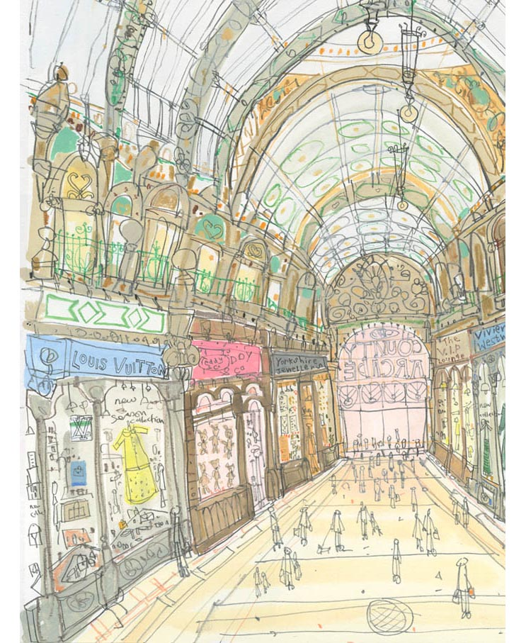 'Shop Fronts County Arcade'      (DETAIL FROM PREVIOUS IMAGE)