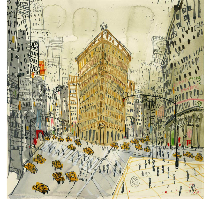 'Flatiron on Fifth Avenue NYC'