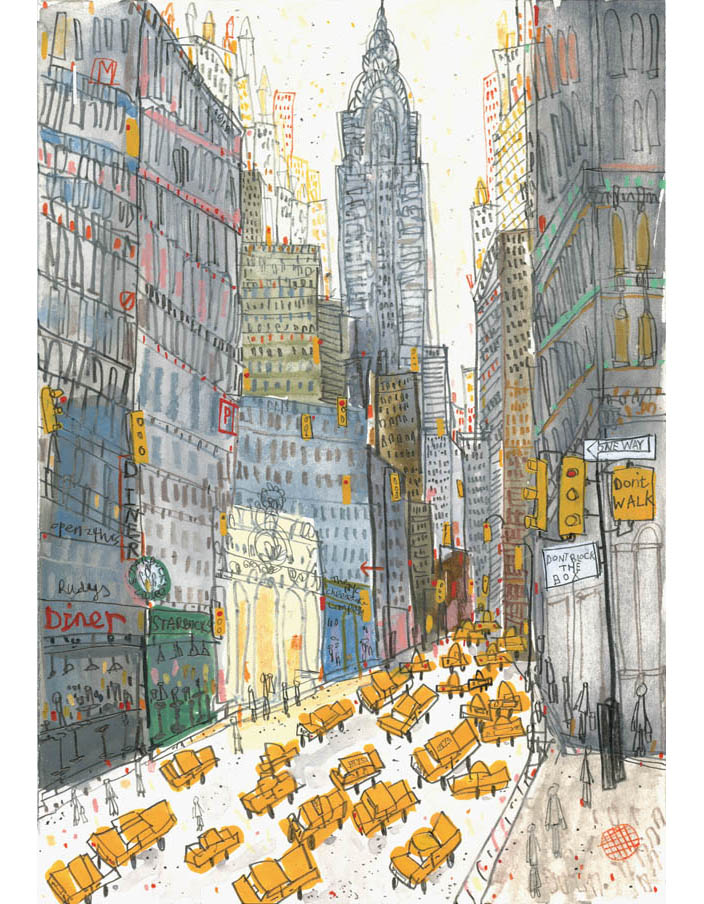 'The Chrysler Building'  Giclee print   29 x 42 cm Edition size 190    £140